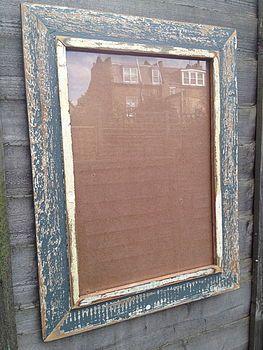 Madiba Reclaimed Wooden Frame
