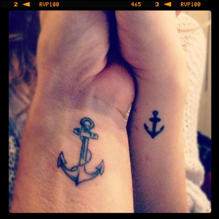 Image result for small navy anchor tattoo