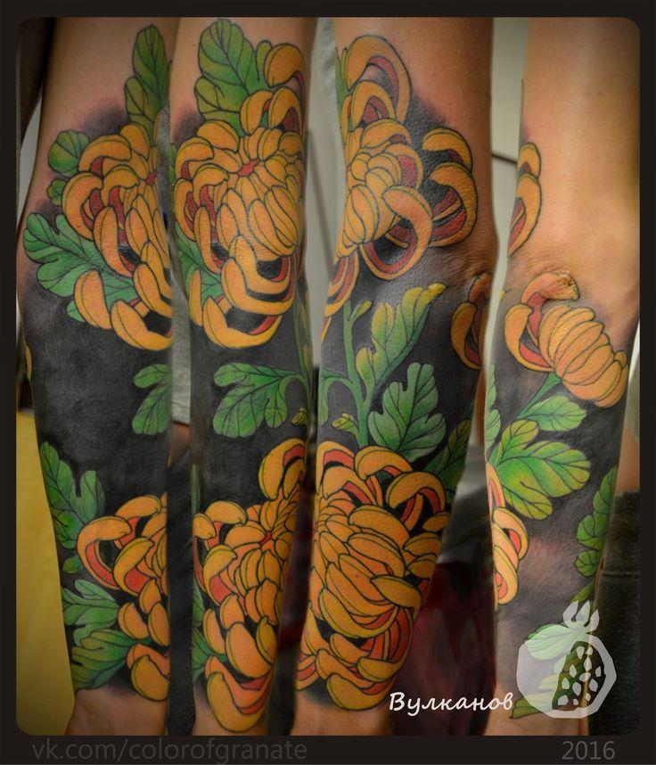"""Боль проходит, а красота остаётся. тату студия """"Цвет Граната"""" г. Краснодар #coptattoo #tattoo #tattoos #tattooartist #tattookrasnodar #krasnodartattoo #krasnodar #krd #tattoostudio #tattoostudiokrasnodar #colorofgranate #color #colortattoo #цветграната #тату #татуировка #татукраснодар #краснодартату #краснодар #татустудия #татустудиякраснодар #ink #inked #colorink #цветы #рукав #татурукав #красота #татуза #краски Василий Вулканов"""