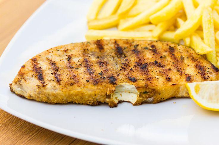 Pesce spada al forno impanato