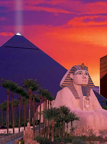 Luxor Las Vegas A place I will be next week!