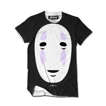 My design inspiration: No Face Tee on Fab.