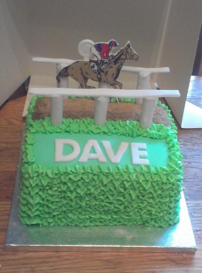 Horse Racing Cake Photos