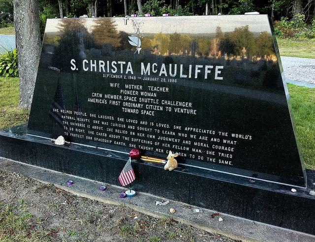 christa mcauliffe grave - Google Search