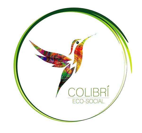 """CLIENT: Colectivo ECO-SOCIAL """"Colibrí""""LOCATION: Antofagasta, ChilePROYECT : design and illustration LOGO+ISOYEAR: 2014"""