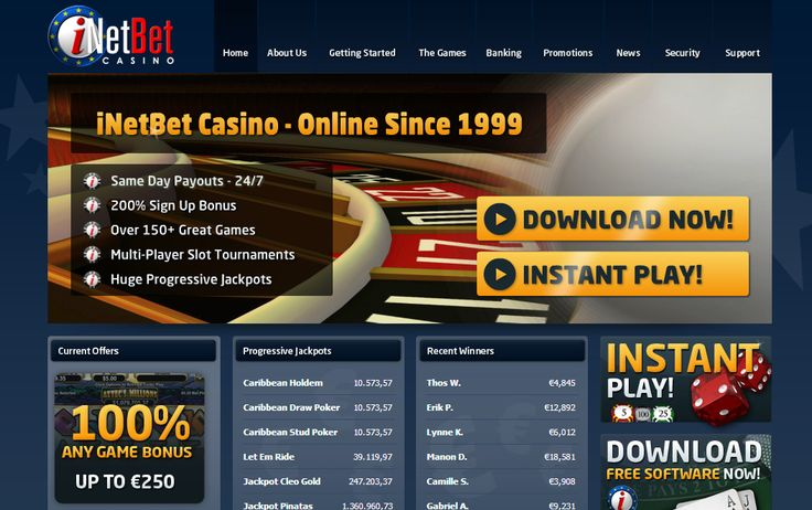 Brining you another great no deposit bonus, this time from iNetBEt ///// $20 (NO US) http://www.latestcasinobonuses.com/onlinecasinobonusforum/exclusive-no-deposit-casino-bonuses/inetbet-euro-$20-no-deposit-bonus-rtg-casino/ ◄◄◄