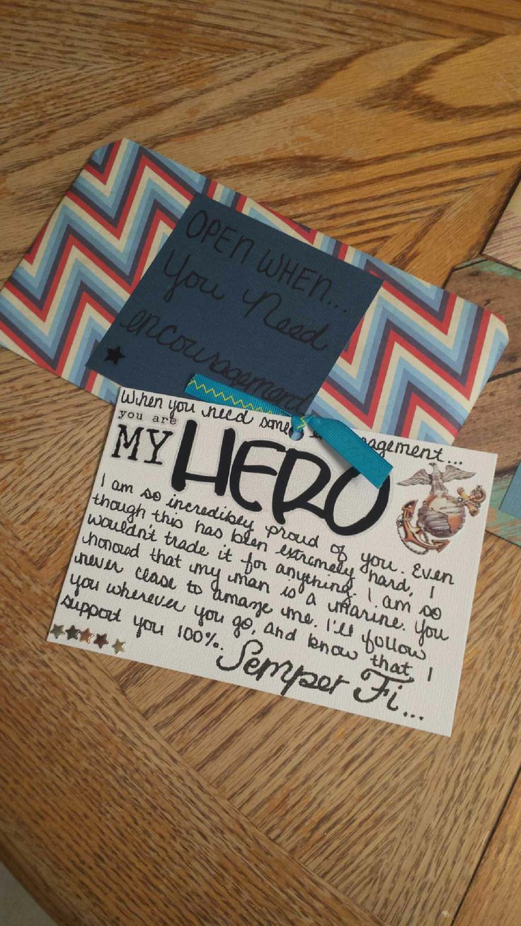 open when letter of encouragement projects i ve done for my marine pinterest encouragement gift and boyfriends