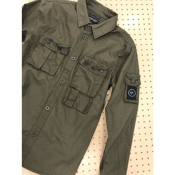 New for #AW17 the @marshallartist_ Ripstop Overshirt. Available online and at our #Ilkeston store now