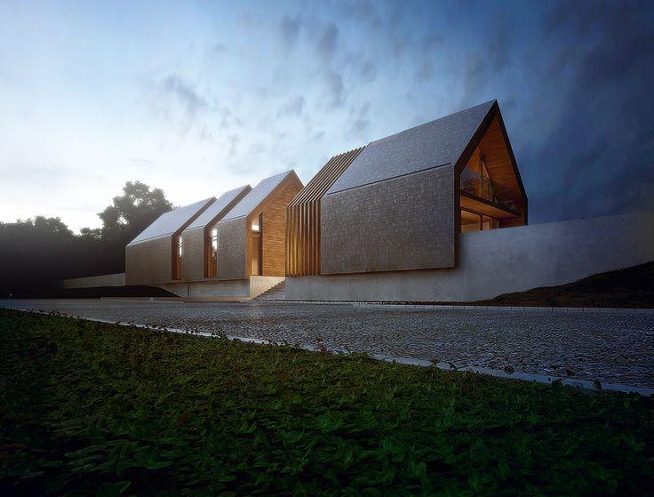 Frame House on Behance