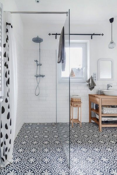 Love the graphic morrocan style floor tiles X