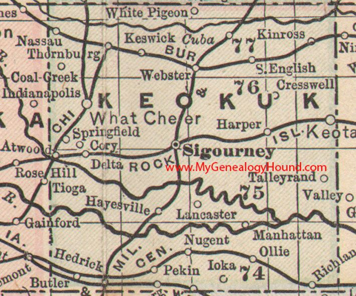 Best Vintage Iowa County Maps Images On Pinterest Maps Iowa - Iowa county map