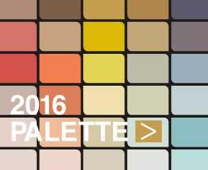 2016 Colour Palette