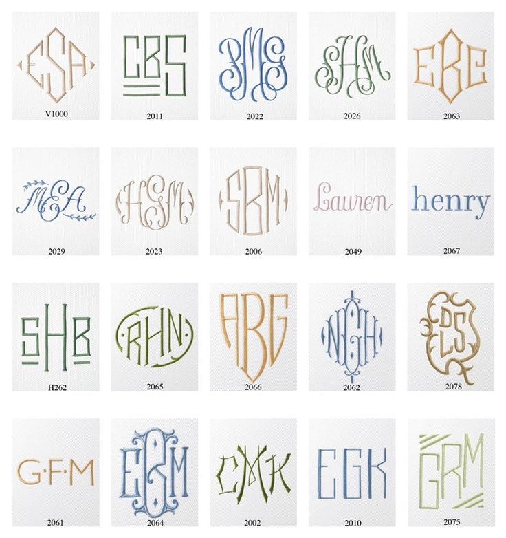 Monograms via the Picket Fence: Monograms Style, Monogram Styles, Monograms Fonts, Monograms Ideas, Picket Fence, Households Items, Summer Gifts Monograms, Design, Wedding Gifts