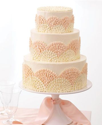 Buttercream makes a difference. #cakedesign