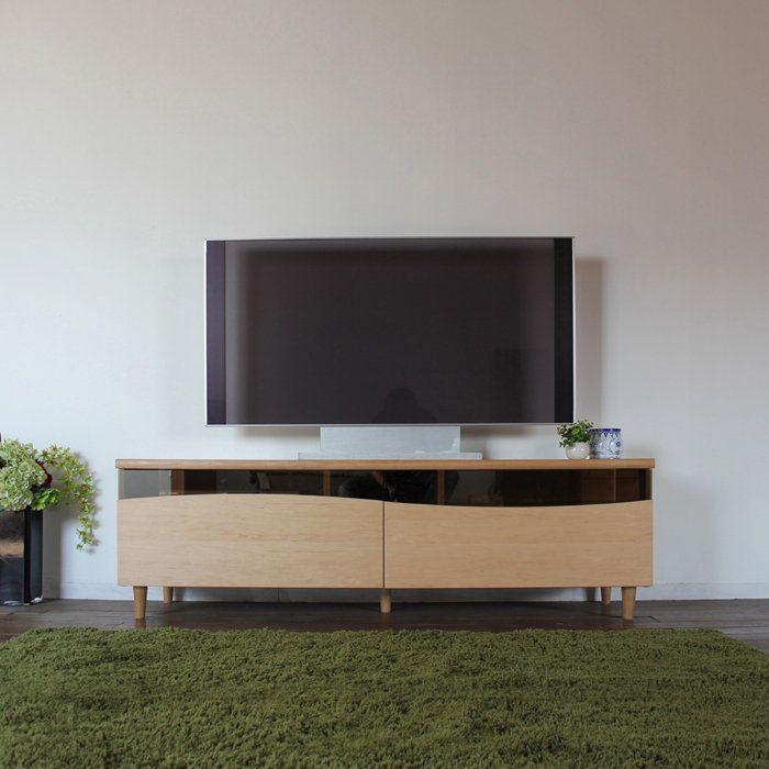 ESLテレビ台160cmテレビボードローボード北欧完成品カラー|ナチュラルメープルサイズ|幅160奥44.5高さ48.25cm生産国|国産日本製シンプル北欧ローボード収納付き国産テレビ台160センチ