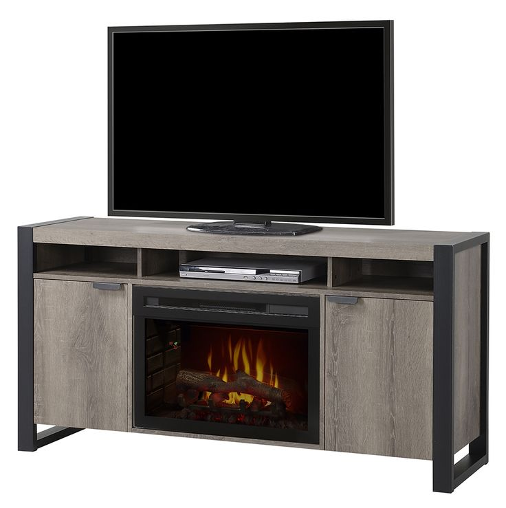 Cabinet fireplace are another variety of electric fireplaces that helps to  project the beauty & become an focal point as other furnishing arts. - 78 Best Images About Media Console - Electric Fireplaces On