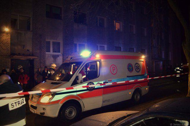 Zelów - ewakuowano 60 osób