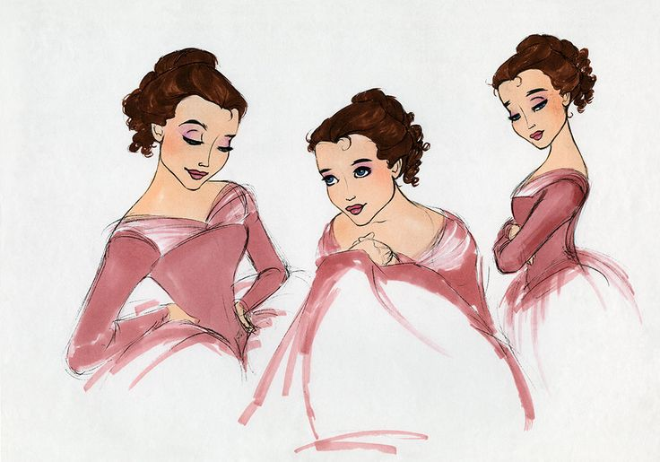 16 Pieces of Enchanting Concept Art from Beauty and the Beast