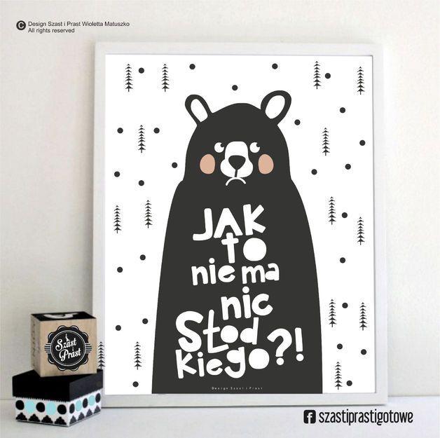 Plakaty dla dzieci - kupuj online spośród 634 produktów na DaWanda