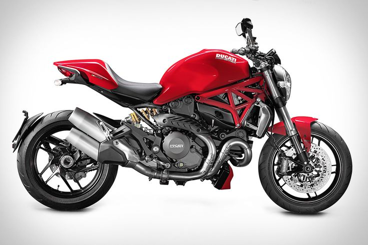 The third generation Ducati Monster 1200 #Motorcycle
