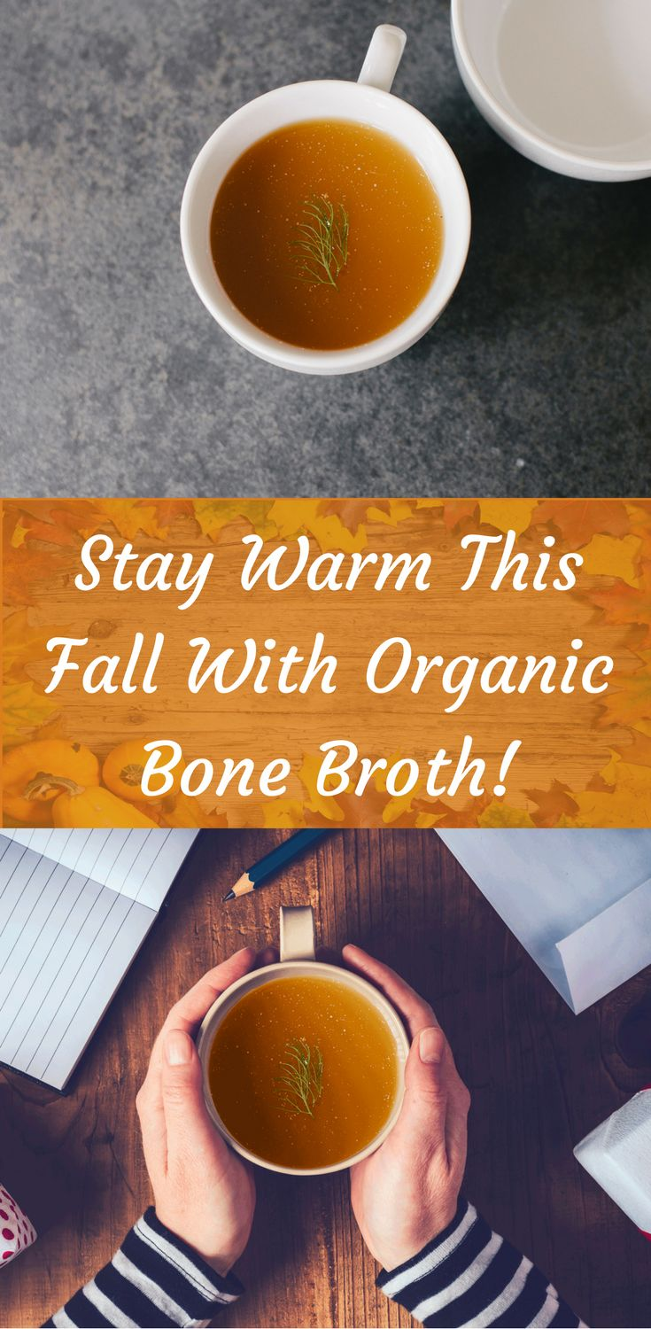 Stay warm on these chilly fall mornings with bone broth! Click to learn more!