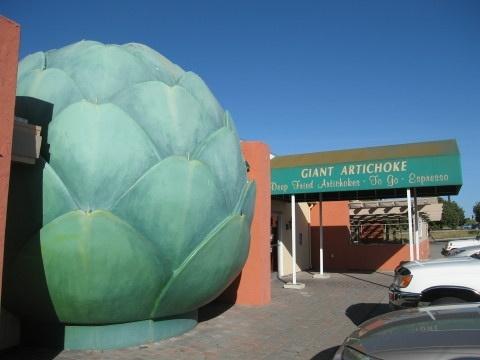 Giant Artichoke Restaurant, Castroville, CA