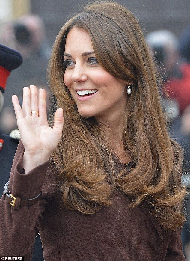 2013: The duchess picked out a pair of pearl earrings for an engagement in March 2013. An ...