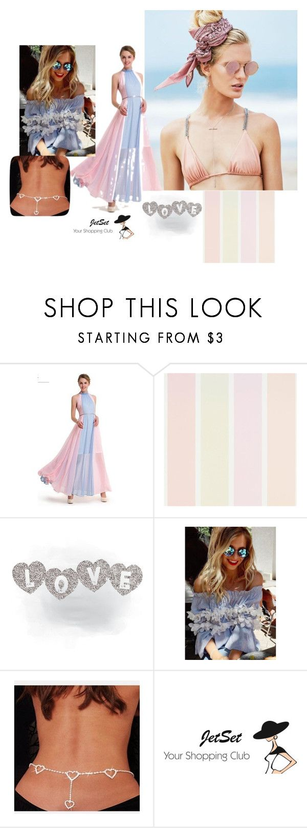 """gentle spring fashion!"" by sanja1984 ❤ liked on Polyvore featuring Beach Riot"