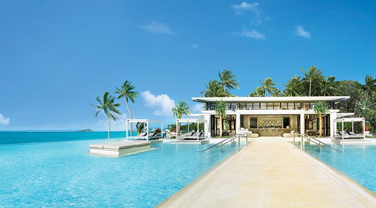 Pool view on Hayman Island One&Only Resort