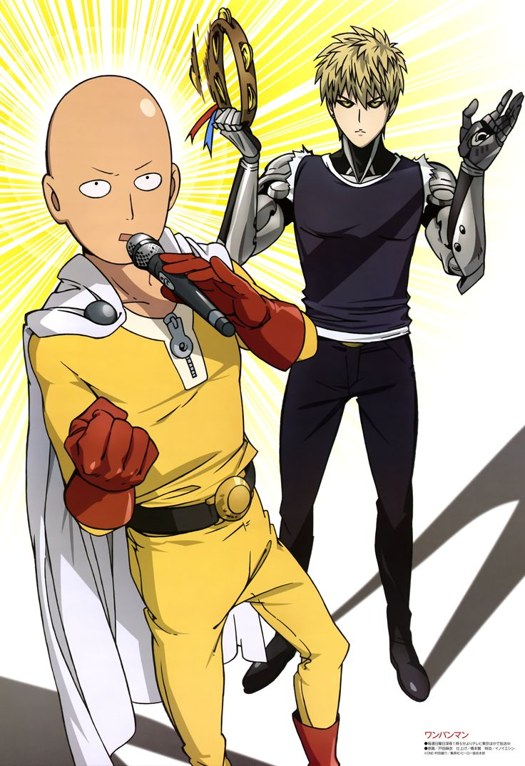 Tags: MADHOUSE, Scan, Official Art, Genos (One Punch Man), One Punch Man, Saitama (One Punch Man)