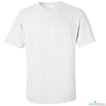 Simple White Blank t shirt