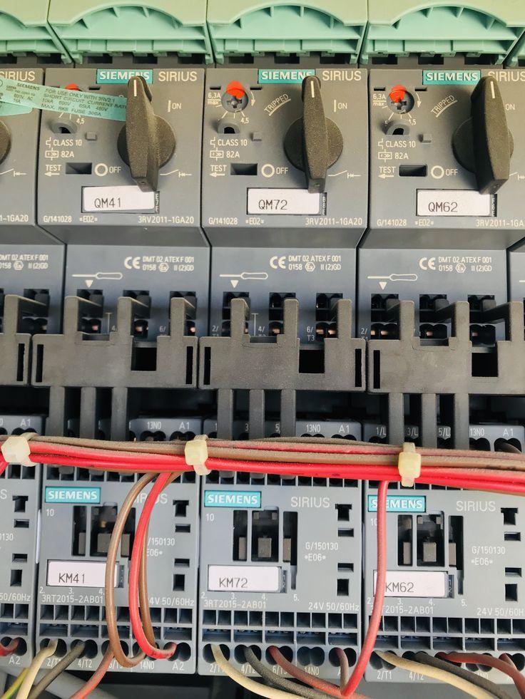 HVAC Carrier chiller 30XA Fan contactor Chill, Hvac