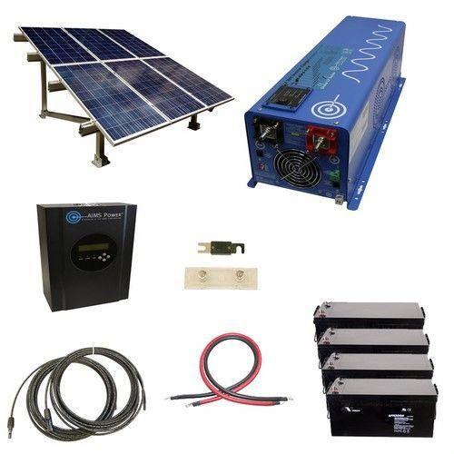1440 Watt Off Grid Solar Kit With Solar Rack And 4000 Watt Power Inverter Charger 24 Volt Solarpanelkits Solar Panels Solar Energy Panels Solar Kit