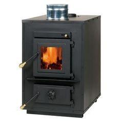 Summers Heat 3,000-Sq Ft Wood Furnace 50-Shw35