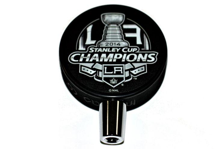 2014 Los Angeles Kings NHL Stanley Cup Champions Hockey Puck Beer Tap Handle