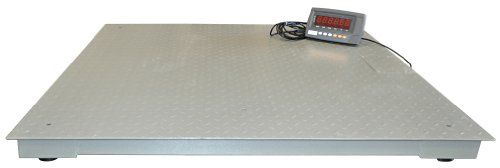 Digiweigh Professional Floor/Pallet Scale (DWP-10000R)  The DWP-R Series From DIGIWEIGH is a high quality, professional floor / pallet scale that is ideal for industrial or shipping use. Its capacity is up to 10000 Lbs., and it is accurate to within one pound of the actual weight. Four high quality alloy load cells ensure that the unit is completely accurate within its full load range.  Large deck measures 4 x 4 – ideal for standard pallets. Four high quality alloy load cells ensure ..