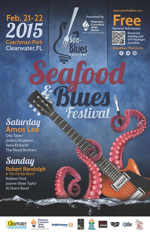 #9 Florida Winter Must Have 2015 Clearwater Sea-Blues Festival | Clearwater Sea-Blues Festival