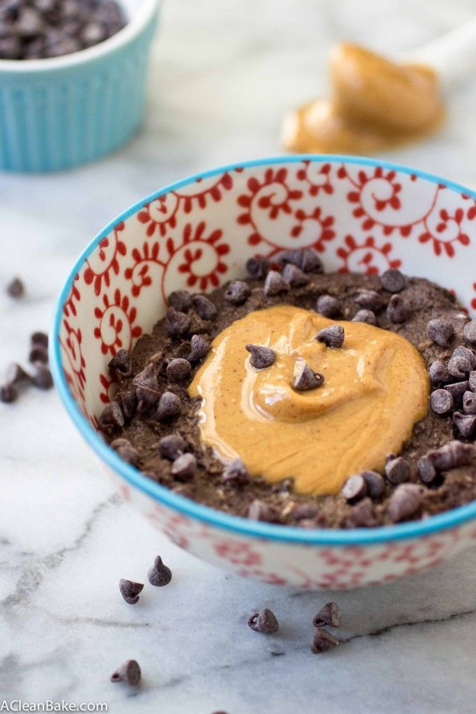 Chocolate Peanut Butter Faux-tmeal by A Clean Bake - Sweeter Life Club