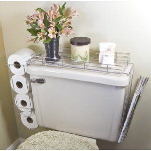 Toilet Caddy- 3 in 1 Organizer (perfect for tiny bathroom).  Rent-Direct.com - Apartments for Rent in New York, with No Broker's Fee.