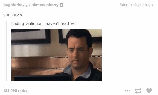 The pure and unholy joy of finding a diamond in the rough. | 15 Things You'll Only Learn From Reading Fan Fiction