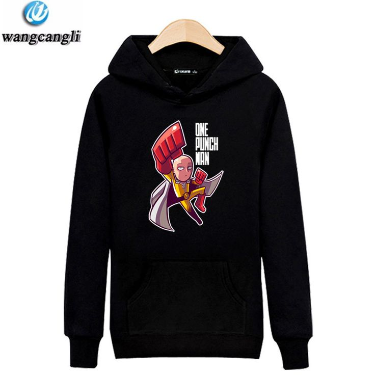 COtton blended One Punch man Saitama Oppai hoodie Hooded Sweatshirt Fleece Unisex for man and woman size Jacket Cosplay Costume #Affiliate