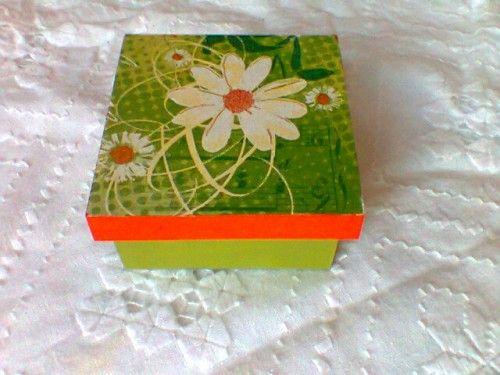 Caixas decoradas com decupagem - Classificados de Artesanato da Vila - Compra e Venda de Artesanato