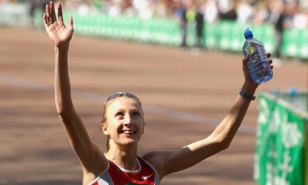 April 13th. 2003: Paula Radcliffe sets a new world record for the Marathon.