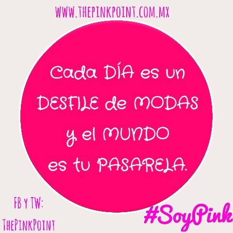#SoyPink www.thepinkpoint.com.mx