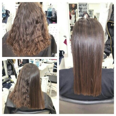 Keratin smoothing treatment #2
