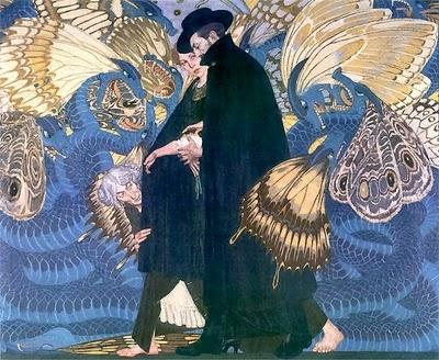 Józef Mehoffer, Medusa II, 1904. Edward Okuń, Wojna i my, 1923