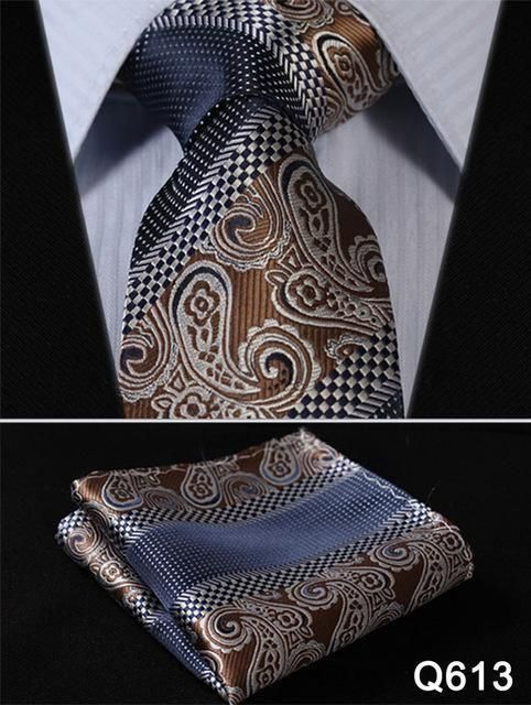 Silk Wedding Mens Extra Long Tie