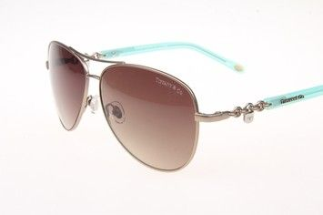 """Tiffany & Co. Tiffany """"Locks Aviator"""" Sunglasses/Italy/Style #TF3034"""