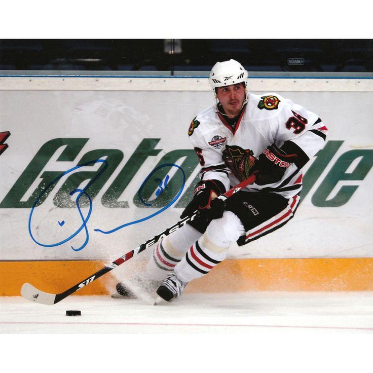 "Dave Bolland Chicago Blackhawks Fanatics Authentic Autographed 8"" x 10"" Gatorade Banner Photograph"