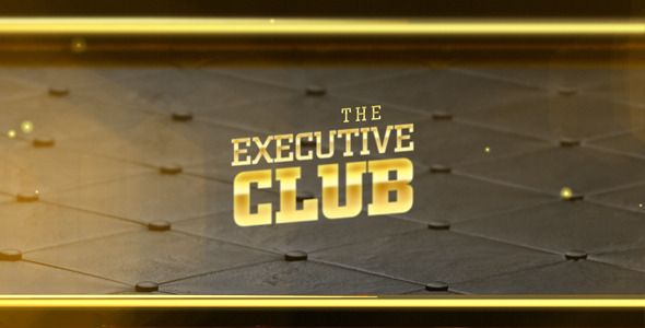The Executive Club - Leather & Gold